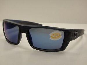 fb74167a79c37 COSTA DEL MAR RAFAEL SUNGLASSES BLACK TEAK BLUE 580P LENS RFL111 ...