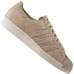 Details zu adidas Originals Superstar 80s Turnschuhe Herren Wildleder Sneaker BB2227 Beige