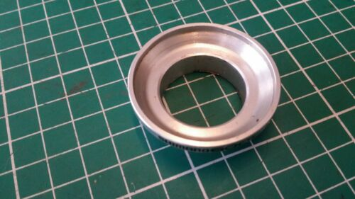 """BICYCLE FRAME CUP HEADSET SILVER 1/"""" ALUMINIUM FOR CARTRIDGE BEARINGS"""