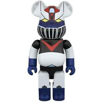 Medicom Mazinger Z Great Mazinger 400% Bearbrick Figure Black White Blue Red
