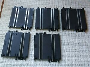 Artin 1:43 scale Slot Car Track 2 Lane Short Track With Hook Lot Of 5 Pieces