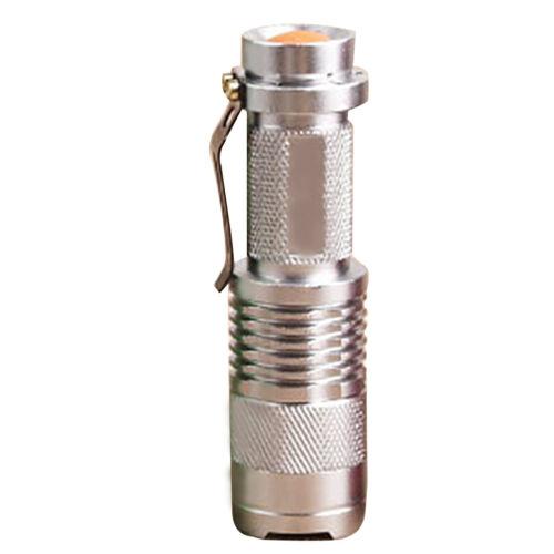 Adjustable 7W Focus Zoom Light Lamp 5 Mini Q5 LED Flashlight Torch 6 Colors