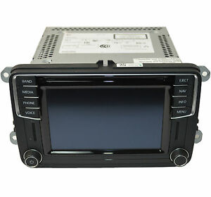 oem vw jetta radio navigation discover media touchscreen. Black Bedroom Furniture Sets. Home Design Ideas