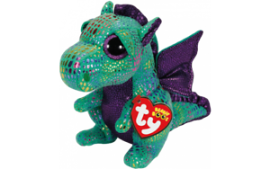 TY Beanie Boo Cinder Plush Soft Toy Dragon 18  XL 42 cm NEW TAGS
