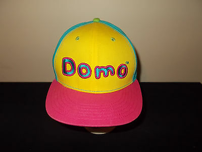 Domo easter egg colors pastels baseball snapback hat sku29