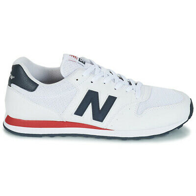 New Balance Mens 500 Trainers White/Navy/Red | eBay