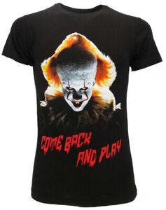 T-shirt-IT-capitolo-2-Clown-Chapter-2-Originale-ufficiale-pagliaccio-maglia