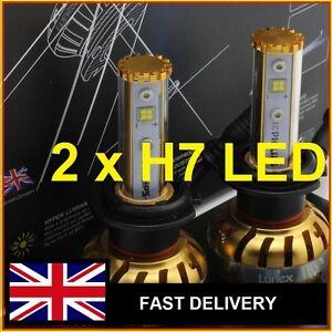 h7 led lunex 300 led 4000lm lumen h7 ampoule blanc phare feux halog ne conver. Black Bedroom Furniture Sets. Home Design Ideas
