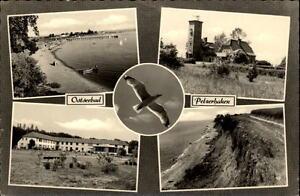 Ostseebad-Pelzerhaken-Mehrbildkarte-1963-gelaufen-Blick-zum-Strand-Steilkueste