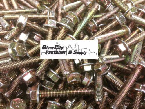 Small Head Hex 10.9 Yellow Zinc 50 M6-1.0 x 40 or M6x40 6mm x 40mm J.I.S