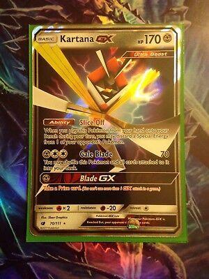 Full Art Ultra Rare Sun /& Moon: Crimson Invasion Pokémon Company International 106//111 Kartana-GX