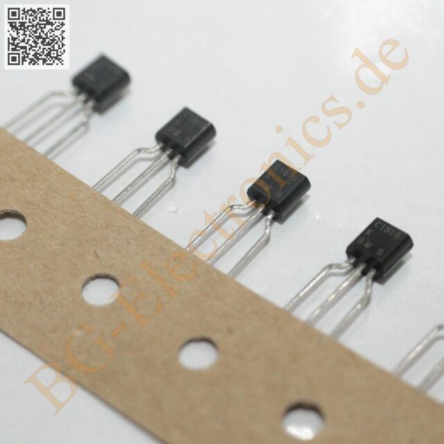 2 x 2SC1921 Silicon NPN triple Diffused Transistor 600m Hitachi TO-92L 2pcs