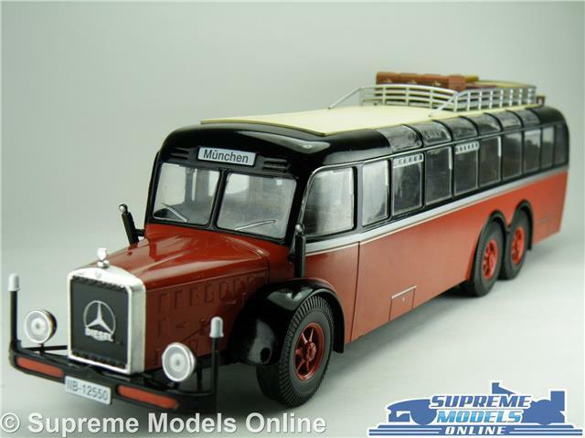 MERCEDES BENZ O10000 MODEL BUS 1939 1 43 SCALE IXO GERMANY MUNCHEN K8