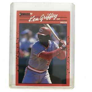 1990 Donruss Ken Griffey Sr #469 469 Error Card No Period After Inc Very Rare