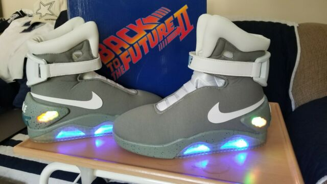 back to the future 2 nike air mag off