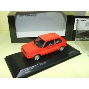 VW-GOLF-GTi-PIRELLI-1983-Rouge-MINICHAMPS-1-43