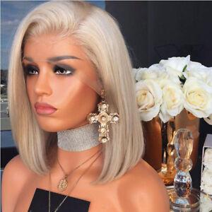 Brazilian-Bob-Full-Lace-Synthetic-Wigs-Blonde-Gluesless-Lace-Front-Wig