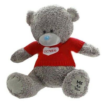 LOVES Brand New 16 inch//40 cm Teddy Bear plush Toy Me to You RED Sweater