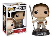 Funko Pop Star Wars Episode 7 The Force Awakens Rey Vinyl Figure on sale