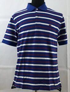 BROOKS-BROTHERS-Mens-Performance-Polo-Shirt-Medium-Original-Fit-Striped