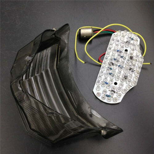Smoke Brake LED Tail Light Turn Signal For Yamaha FZ6 Fazer600 2004-2014