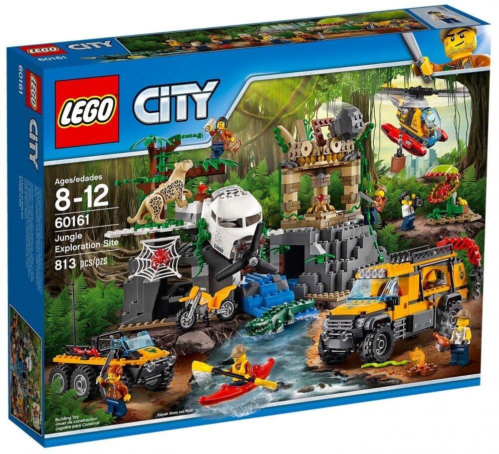 LEGO® CITY 60161 - Le Site de l'exploration de la jungle Neuf