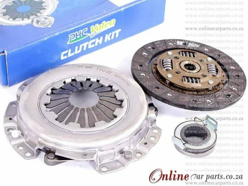 Citroen C1 1.0 2006- 1KR-FE 12V 51KW 190mm x 19 Spline Clutch Kit