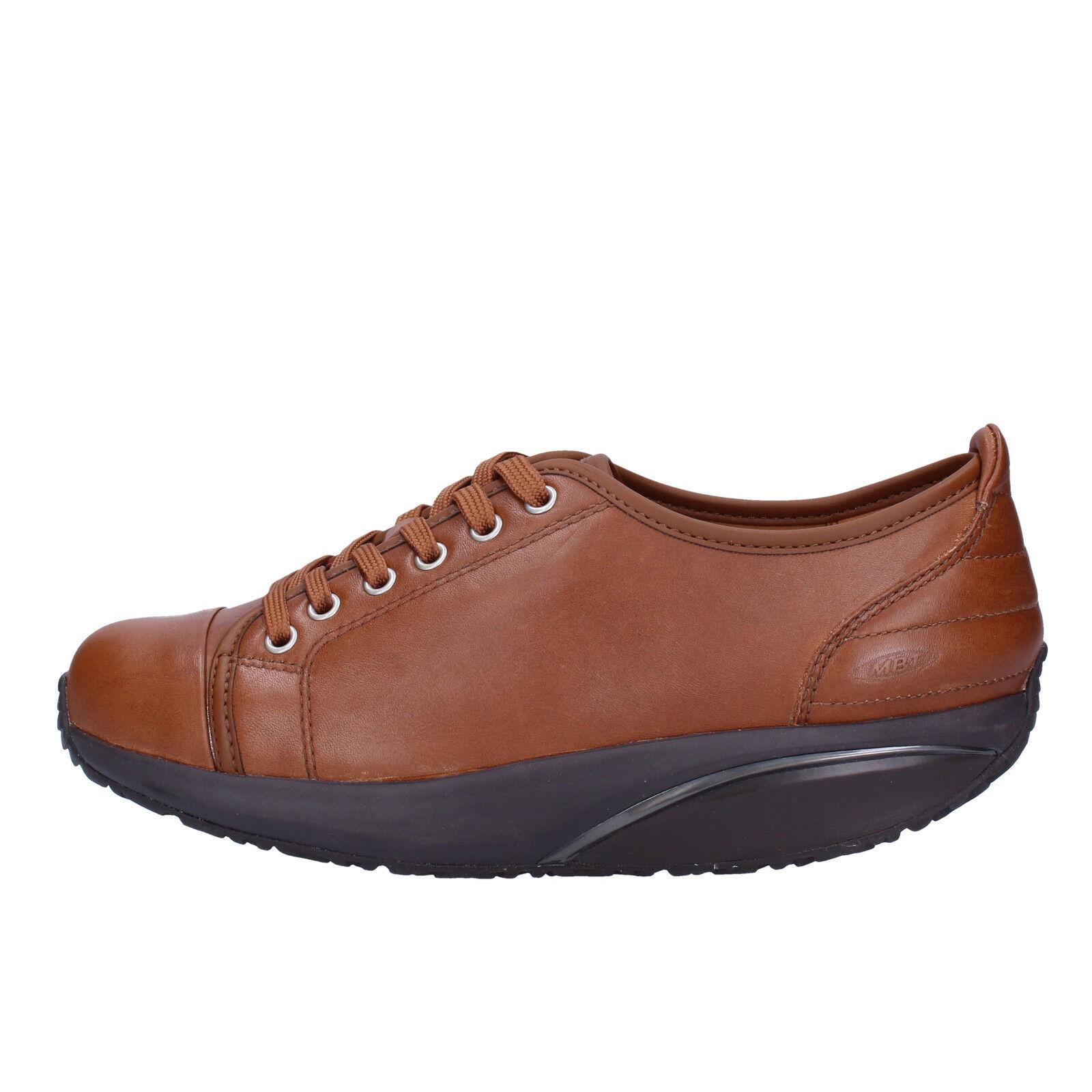 Scarpe scarpe da ginnastica scarpe donna MBT 37 EU scarpe da ginnastica scarpe ginnastica marrone pelle AC478   381b72