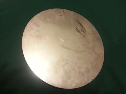 """THICK   STAINLESS STEEL PLATE  10 5//8/"""" DIAMETER THREE SHEETS 16ga .06 /"""" APPROX"""
