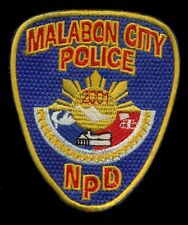 Malabon City Philippine Philippines National Police Patch RP-2