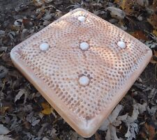 """Pillow stepping stone 1/8th"""" heavy duty plastic mold 2"""" thick mould"""