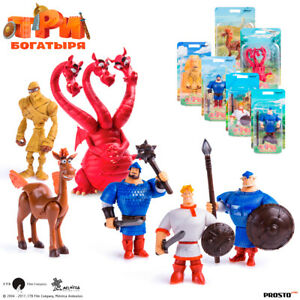 PROSTO-Toys-The-Three-Bogatyrs-Collection-Figure-Cartoon-Character