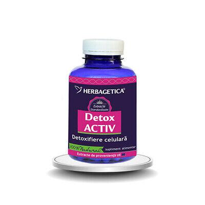 Aloe Ferox detoxifiere, Herbagetica, 30 cps | p5net.ro