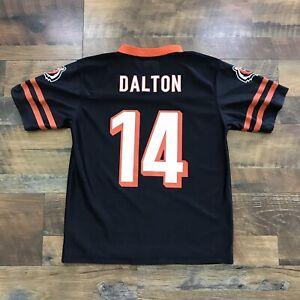 Andy Dalton Cincinnati Bengals #14 Black Jersey Size Youth Large ...