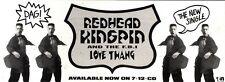 10/8/91 Pgn22 Advert: Redhead Kingpin And The F.b.i Single love Thang 4x11