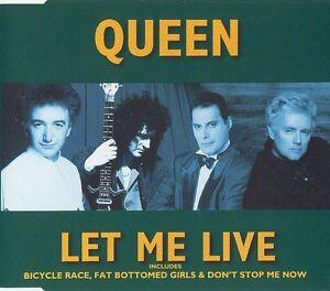 Queen-Maxi-CD-Let-Me-Live-England-M-EX
