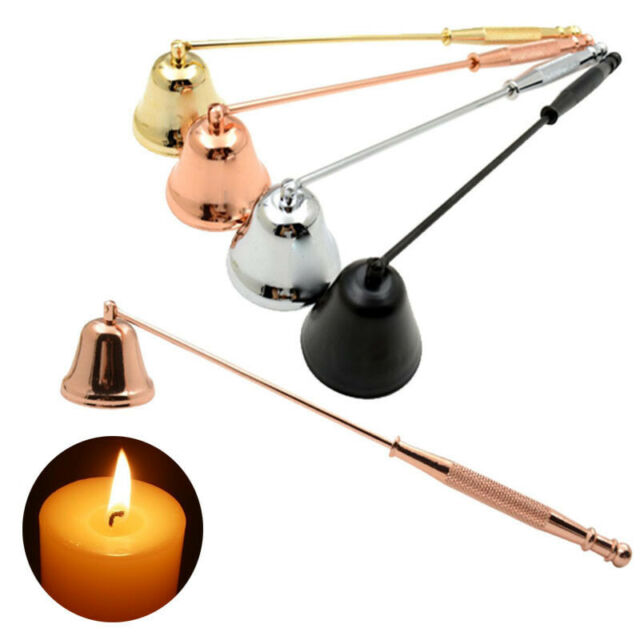 Candle Wick Snuffer Stainless Steel Long Handle to Safe Extinguish Candles