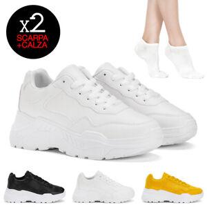 Sneakers-donna-Seady-E7222-calzini-omaggio-scarpe-ginnastica-casual-sportive
