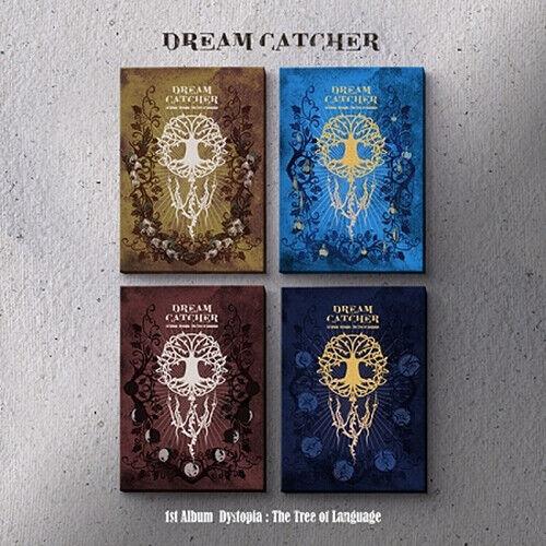 DREAMCATCHER DYSTOPIA:THE TREE OF LANGUAGE 1st Album 4 Ver SET+CD+PhotoBook+Card