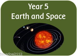 ks2 y5 science topic earth and space teaching resources iwb display printables ebay. Black Bedroom Furniture Sets. Home Design Ideas