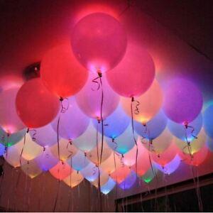 LED-Luftballons-Leuchtend-fuer-Geburtstag-Hochzeit-Party-Deko-Club-Licht-Junggese