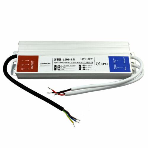 DC 12V IP67 LED Strip Water proof Driver Power Supply Transformer CCTV LED Light