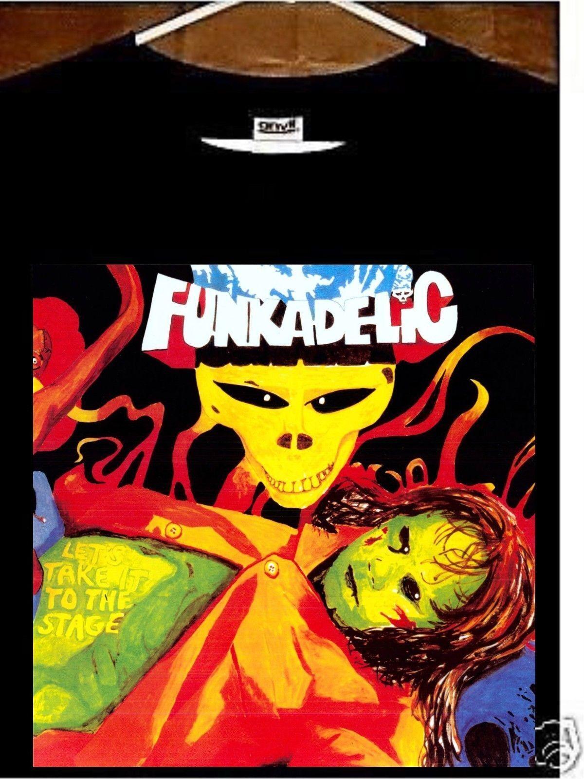 Funkadelic T shirt; Funkadelic Lets Take It To The Stage Tee shirt