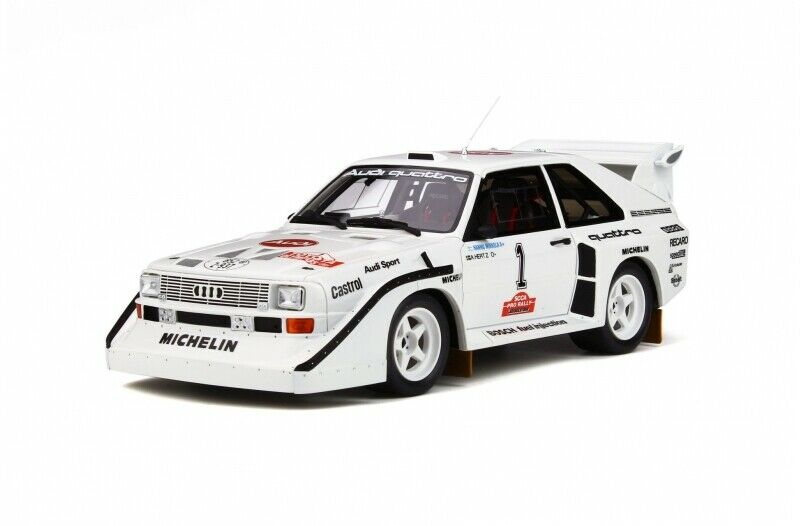 Audi Quattro s1 Olympus rally 1985  18 resin Otto Mobile ot757 nuevo & OVP