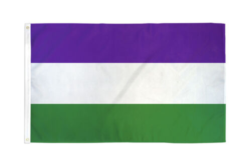 Suffragette Flag 3x5 Women/'s Rights Flag 19th Amendment Susan B Anthony History