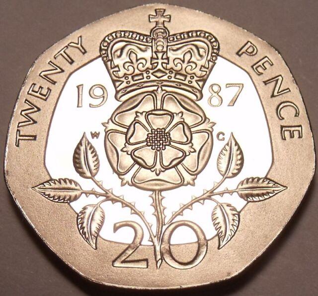 Great Britain 20 Pence 1987 Ebay