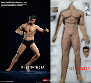 1-12-Scale-TBLeague-Super-Flexible-Male-Man-Strong-amp-Normal-Muscle-Seamless-Body