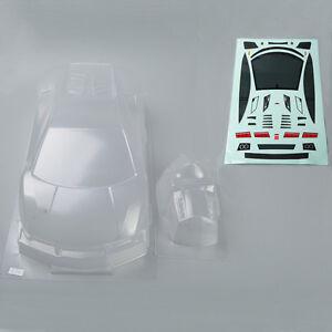 1-10-PC-Transparent-195mm-RC-Car-Body-FOR-Lamborghini-Gallardo-LP560-4-PC201303