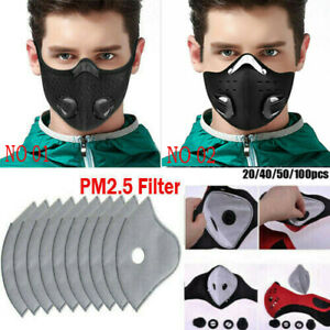 PM 2.5 Activated Carbon Filter for Cycling Air Filter Face Cover Cleaner Mouth