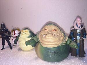 Personnalisé Star Wars Gardulla La Figurine d'Action Tatooine Podrace Hutt Mos Espa